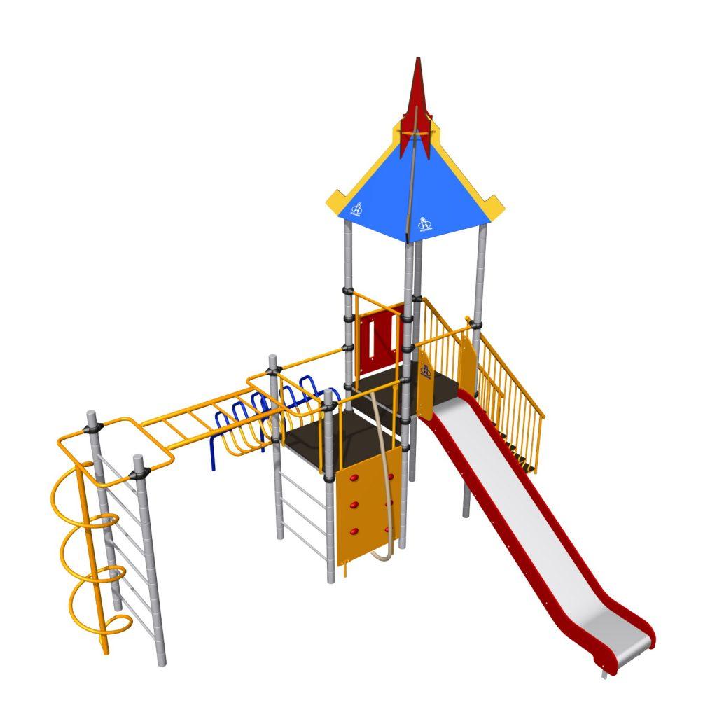 Уличная детская игровая площадка